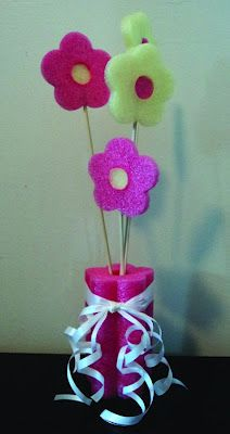 pool noodle for birthday party decorations - Google Search