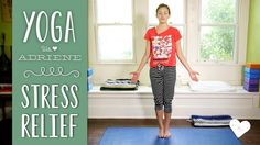 Join Adriene on the mat for a Yoga for stress relief sequence! This yoga practice is great for a tired body and a busy mind. Try this sequence to calm the ne...
