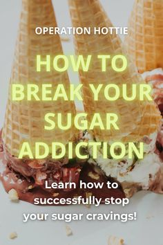 What are the signs and symptoms of sugar addiction? Are you a sugar addict? If so, how can you quit sugar addiction? How can you stop the cravings? Find out how to overcome your sugar addiction! #sugar #cravings #addiction #sweet #sweets