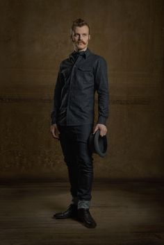Martin Saar for Chapter One / Raw denim shirt by Minu. Reval Denim Guild