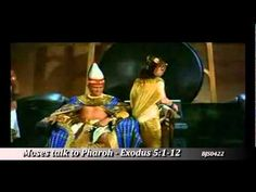 Moses talk to Pharaoh to let the people of Israel go! from the book of EXODUS chapter 5 verse 1 to 12 Modern Miracles, Book Of Exodus, Blessings, Verses, Blessed, Peace, Technology, God, Music