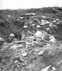 Australian soldiers at Ypres 1917.