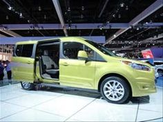 The 2014 Ford Transit Connect Wagon has made its formal debut at the LA Auto Show, where it showed fresh looks and even more flexibility. The passenger-focused conceptual successor to the existing Transit Connect, it's based on an all-new platfor