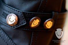 Mariela Pokka - luxury fashion made of unique reindeer leather Santa Claus Village, Classic Collection, Lululemon Logo, Reindeer, Trench, Luxury Fashion, Cufflinks, Unique, Leather