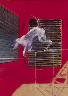 Francis Bacon, A Performing Dog, 1954