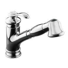 Fairfax Single-Control Kitchen Sink Faucet In Polished Chrome