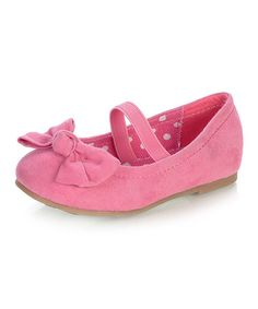 Take a look at this Fuchsia Yartna Flat by Blow-Out on @zulily today!  click this link so I get credit....huge girls shoe sale going on now  http://www.zulily.com/invite/lshapiro539