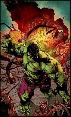 #Hulk #Fan #Art. (Hulk Colors) By: MemoRegalado &V3dd3rMan. ÅWESOMENESS!!!™ ÅÅÅ+