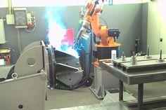 saldatura robotizzata carpenteria pesante