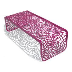 Coral Table/Bench