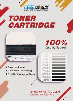 Every toner cartridge will be tested before delivery. Quality could be assured #product Toner Cartridge, Delivery