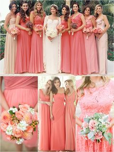 Wedding Philippines - Top 10 Most Flattering Bridesmaids Dress Colors - 09 Coral Pink