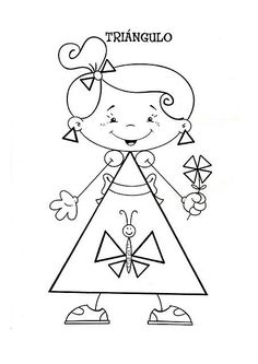 Menta Más Chocolate - RECURSOS PARA EDUCACIÓN INFANTIL: Dibujos de FORMAS GEOMÉTRICAS (Vocabulario) Indian Drawing, Shapes For Kids, Family Theme, Puzzles For Kids, Preschool Activities, Teaching Kids, Kids Playing, Coloring Pages, Kindergarten