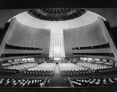 United Nations - Ezra Stoller's Photographs Showcased in a New Book and Exhibition : Architectural Digest