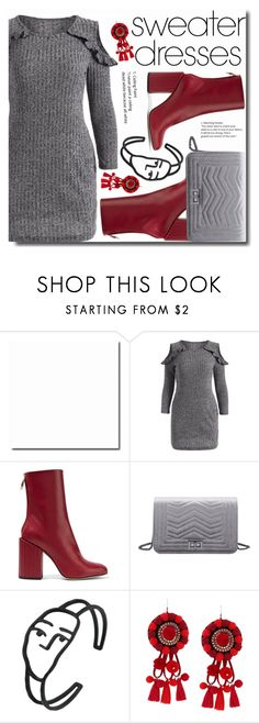 """""""Sweater Dresses"""" by soks ❤ liked on Polyvore featuring Petar Petrov"""