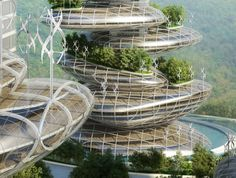 vincent callebaut: asian cairns, shenzen, china