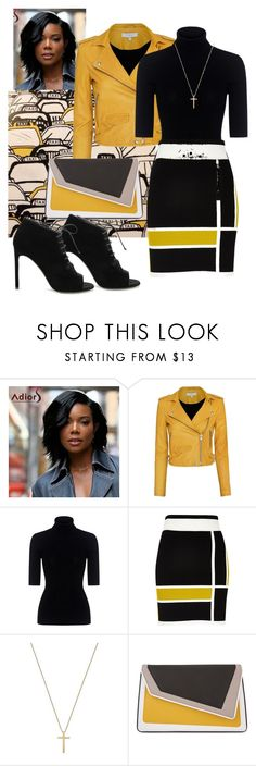 """""""Untitled #1251"""" by srlangley ❤ liked on Polyvore featuring IRO, Theory, River Island, Gucci, âme moi and Yves Saint Laurent"""
