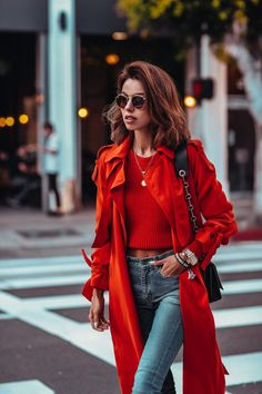 f395e7ad1 32 Best Red trench coat images