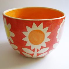 I LOVE this large bowl...sooo HAPPY!
