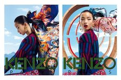 The Essentialist - What's Hot In Fashion Advertising: Kenzo Accessories Ad Campaign Fall/Winter 2012/2013