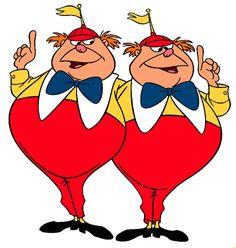 Hahaha...how have we not done this one before?! @mrsilverscott and me as Tweedledee and Tweedledumb would be fun :)