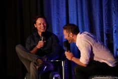 Sam Heughan and Steven Cree The highlanders in London