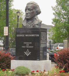 George Washington Masonic Monument in Houlton, Maine