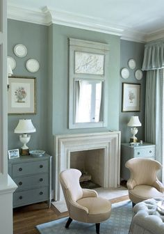 teal-grey for bedroom