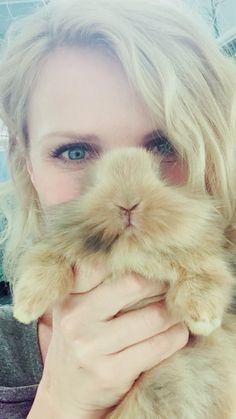Love my facial hair. Baby bunny.