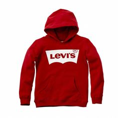 The soft to touch, Levi's logo in Lazy Tab style gives a whole new fashion dimension to this sweatshirt: altogether bold, original and trendy, it Fashion Kids, New Fashion, Cool Jackets, Levi Strauss, Girls Sweaters, School Outfits, Hoodies, Sweatshirts, Cowls