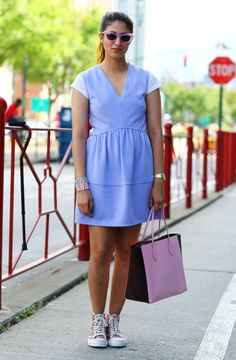 Preetma in Pastels | Street Fashion | Street Peeper | Global Street Fashion and Street Style