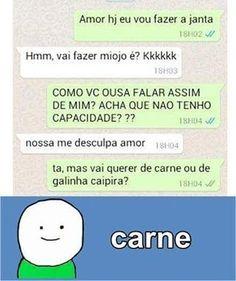 195 Melhores Imagens De Whatsapp Zueira Funny Conversations Funny