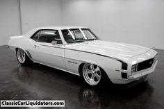 1969 Camaro RS Pro-tour with ZZ502, tremec 5 speed, air ride, DSE mini tubs and more!