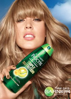 Follow the link below to Garnier Fructis timeline photos page on Facebook and then follow the link in the caption to the photo! If you haven't done this before now you can score the free sample of all-new Garnier Fructis Triple Nutrition Shampoo