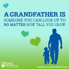 I love u soo much grandpa you are the best ever
