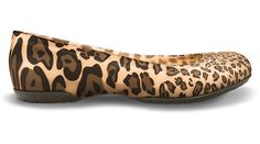 Crocs Carlisa flat Leopard Womens 4 NWT NEW Gold Espresso Mary Jane Dress Comfy