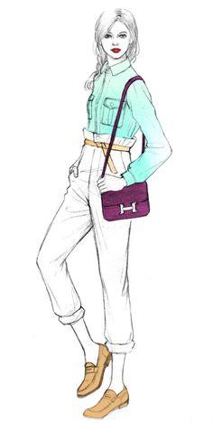 Teri Chung's Illustrations | Trendland: Fashion Blog & Trend Magazine