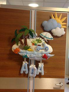 Bebek Odası süslemeleri, kapı süsü,  #bebekodasitasarim #bebek #kapisusu #hastaneodasisusleme