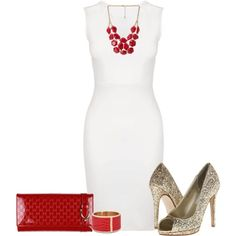 """Glitter and Glossy"" by kathydiaz86 on Polyvore"