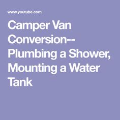 Awg cable ampacity chart van conversion pinterest chart camper van conversion plumbing a shower mounting a water tank greentooth Choice Image