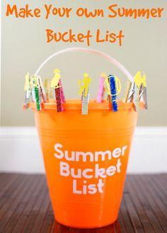 Make Your Own Summer Bucket List then follow this list of 50 great summer bucket list ideas!