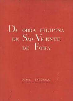 Da Obra Filipina de São Vicente de Fora   VITALIVROS / Alfarrabista