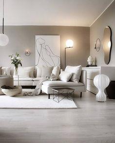 Living Room Decor Inspiration, Decor Home Living Room, Glam Living Room, New Living Room, Home Room Design, Interior Design Living Room, Living Room Designs, Minimalist Room, Apartment Interior