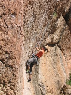 Shelley climbing in Queen Creek AZ