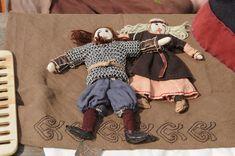 Viking dolls