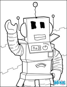Destiny Roblox Coloring Pages A Robot Of Hello Unk On Unconditional Free New