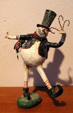 Andy Faye Folk Art, Adrea Faye McCurry, AndyFaye, Original Halloween Art, Halloween, Halloween Collectible
