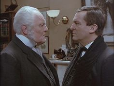 "From ""The Return of Sherlock Holmes,"" Holmes and brother Mycroft."
