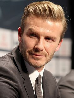 mad men hairstyles David Beckham Mad Men Hairstyles for Tough Guys