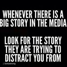 The media will brainwash you- if you let it. #stayinformed